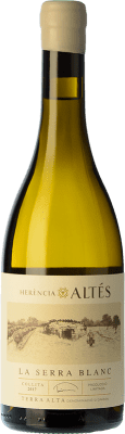 22,95 € Free Shipping | White wine Herència Altés La Serra Blanc Crianza D.O. Terra Alta Catalonia Spain Grenache White Bottle 75 cl