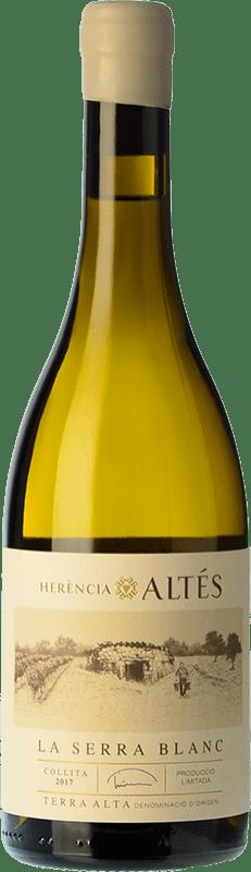 22,95 € Envío gratis | Vino blanco Herència Altés La Serra Blanc Crianza D.O. Terra Alta Cataluña España Garnacha Blanca Botella 75 cl