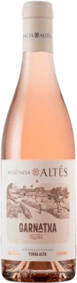 6,95 € Kostenloser Versand | Rosé-Wein Herència Altés Rosat Negra D.O. Terra Alta Katalonien Spanien Grenache Flasche 75 cl