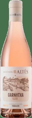 6,95 € Envío gratis | Vino rosado Herència Altés Rosat Negra D.O. Terra Alta Cataluña España Garnacha Botella 75 cl