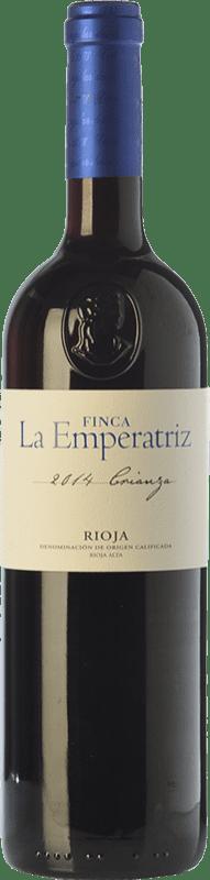 9,95 € Envoi gratuit | Vin rouge Hernáiz La Emperatriz Crianza D.O.Ca. Rioja La Rioja Espagne Tempranillo, Grenache, Viura Bouteille 75 cl
