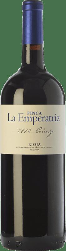 9,95 € Envío gratis | Vino tinto Hernáiz La Emperatriz Crianza D.O.Ca. Rioja La Rioja España Tempranillo, Garnacha, Viura Botella Mágnum 1,5 L