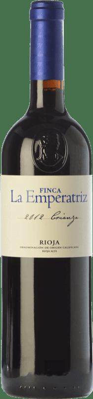 9,95 € Envío gratis | Vino tinto Hernáiz La Emperatriz Crianza D.O.Ca. Rioja La Rioja España Tempranillo, Garnacha, Viura Botella Jéroboam-Doble Mágnum 3 L