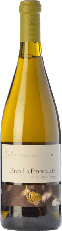 22,95 € Envoi gratuit | Vin blanc Hernáiz La Emperatriz Cepas Viejas Crianza D.O.Ca. Rioja La Rioja Espagne Viura Bouteille 75 cl