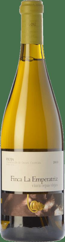 22,95 € Envío gratis | Vino blanco Hernáiz La Emperatriz Cepas Viejas Crianza D.O.Ca. Rioja La Rioja España Viura Botella 75 cl