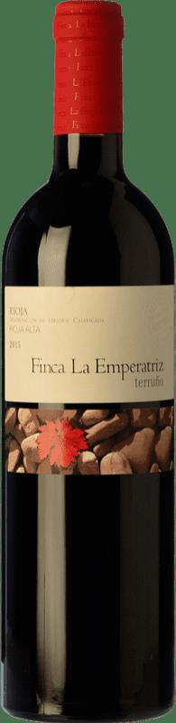 22,95 € Envío gratis | Vino tinto Hernáiz La Emperatriz Terruño Crianza D.O.Ca. Rioja La Rioja España Tempranillo Botella 75 cl