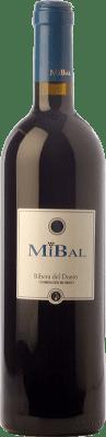 7,95 € Free Shipping | Red wine Hornillos Ballesteros Mibal Joven D.O. Ribera del Duero Castilla y León Spain Tempranillo Bottle 75 cl
