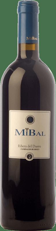 7,95 € Envoi gratuit | Vin rouge Hornillos Ballesteros Mibal Joven D.O. Ribera del Duero Castille et Leon Espagne Tempranillo Bouteille 75 cl