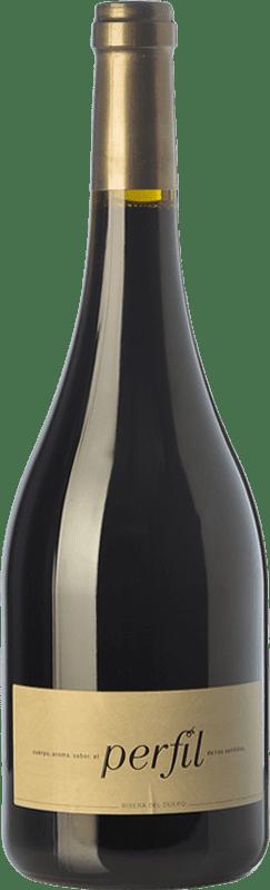 43,95 € Free Shipping | Red wine Hornillos Ballesteros Perfil de Mibal Crianza D.O. Ribera del Duero Castilla y León Spain Tempranillo Bottle 75 cl