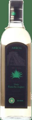 22,95 € Free Shipping | Mezcal Huatulcosta Viejo Pancho López Reposado Mexico Bottle 70 cl