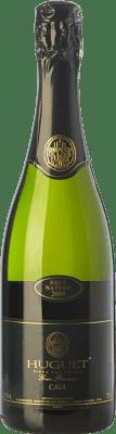 13,95 € Envoi gratuit | Blanc moussant Huguet de Can Feixes Brut Nature Gran Reserva D.O. Cava Catalogne Espagne Pinot Noir, Macabeo, Parellada Bouteille 75 cl