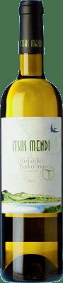 12,95 € Envío gratis | Vino blanco Itsasmendi D.O. Bizkaiko Txakolina País Vasco España Hondarribi Zuri Botella 75 cl