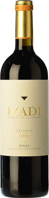 19,95 € Free Shipping | Red wine Izadi Crianza D.O.Ca. Rioja The Rioja Spain Tempranillo Magnum Bottle 1,5 L