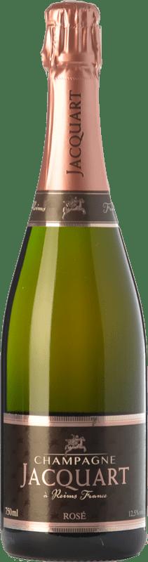 49,95 € Free Shipping | Rosé sparkling Jacquart Mosaïque Rosé Brut A.O.C. Champagne Champagne France Pinot Black, Chardonnay, Pinot Meunier Bottle 75 cl