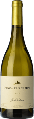 19,95 € Free Shipping | White wine Jané Ventura Finca Els Camps Macabeu Crianza D.O. Penedès Catalonia Spain Macabeo Bottle 75 cl