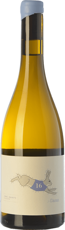 15,95 € Free Shipping | White wine Javi Revert Clausus Crianza D.O. Valencia Valencian Community Spain Malvasía, Verdil, Merseguera, Trapadell Bottle 75 cl