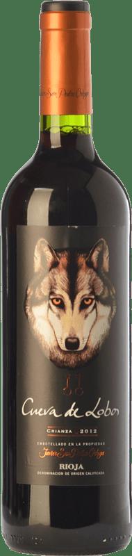 7,95 € Envoi gratuit | Vin rouge San Pedro Ortega Cueva de Lobos Crianza D.O.Ca. Rioja La Rioja Espagne Tempranillo Bouteille 75 cl