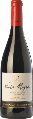 16,95 € Free Shipping | Red wine San Pedro Ortega Viuda Negra Finca La Taconera Crianza D.O.Ca. Rioja The Rioja Spain Tempranillo Bottle 75 cl