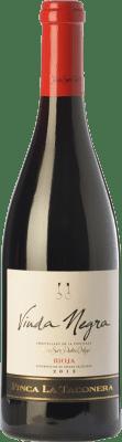 16,95 € Envoi gratuit | Vin rouge San Pedro Ortega Viuda Negra Finca La Taconera Crianza D.O.Ca. Rioja La Rioja Espagne Tempranillo Bouteille 75 cl