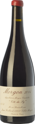 42,95 € Free Shipping | Red wine Foillard Côte du Py Joven A.O.C. Morgon Beaujolais France Gamay Bottle 75 cl