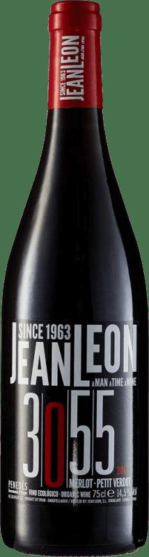 11,95 € Envoi gratuit | Vin rouge Jean Leon 3055 Joven D.O. Penedès Catalogne Espagne Merlot, Petit Verdot Bouteille 75 cl