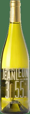 12,95 € Free Shipping | White wine Jean Leon 3055 Crianza D.O. Penedès Catalonia Spain Chardonnay Bottle 75 cl