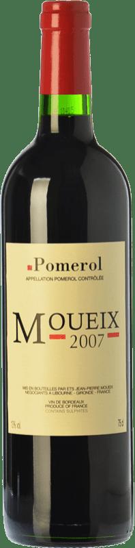 18,95 € Free Shipping | Red wine Jean-Pierre Moueix Moueix Crianza A.O.C. Pomerol Bordeaux France Merlot, Cabernet Franc Bottle 75 cl