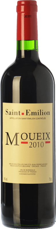 19,95 € Free Shipping | Red wine Jean-Pierre Moueix Moueix Crianza A.O.C. Saint-Émilion Bordeaux France Merlot, Cabernet Franc Bottle 75 cl