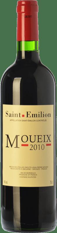 19,95 € Envoi gratuit | Vin rouge Jean-Pierre Moueix Moueix Crianza A.O.C. Saint-Émilion Bordeaux France Merlot, Cabernet Franc Bouteille 75 cl