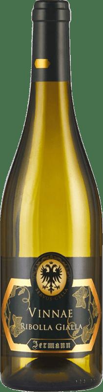 46,95 € Envío gratis | Vino blanco Jermann Vinnae I.G.T. Friuli-Venezia Giulia Friuli-Venezia Giulia Italia Riesling, Ribolla Gialla, Tocai Friulano Botella 75 cl