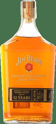 32,95 € Envoi gratuit | Bourbon Jim Beam Signature Craft 12 Years Kentucky États Unis Bouteille 70 cl