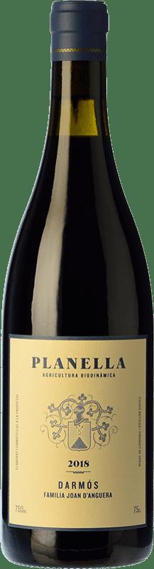 15,95 € Free Shipping | Red wine Joan d'Anguera Planella Crianza D.O. Montsant Catalonia Spain Syrah, Grenache, Cabernet Sauvignon, Carignan Bottle 75 cl