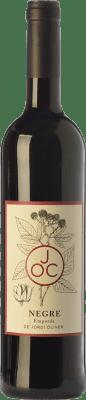 11,95 € Free Shipping | Red wine JOC Negre Joven D.O. Empordà Catalonia Spain Syrah, Grenache, Cabernet Sauvignon, Cabernet Franc Bottle 75 cl
