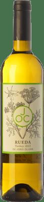 12,95 € Free Shipping | White wine JOC D.O. Rueda Castilla y León Spain Verdejo Bottle 75 cl