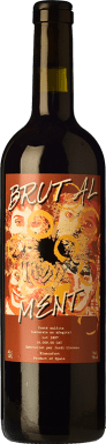 15,95 € Free Shipping | Red wine Jordi Llorens Brutal Joven Spain Syrah, Grenache, Cabernet Sauvignon, Macabeo Bottle 75 cl