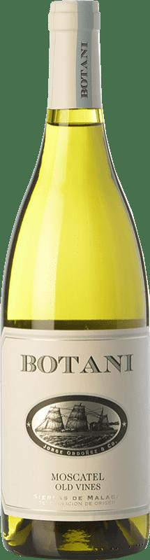 12,95 € Free Shipping | White wine Jorge Ordóñez Botani D.O. Sierras de Málaga Andalusia Spain Muscat of Alexandria Bottle 75 cl
