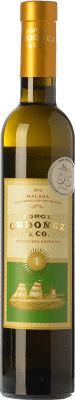 13,95 € Free Shipping | Sweet wine Jorge Ordóñez Nº 1 Selección Especial D.O. Sierras de Málaga Andalusia Spain Muscat of Alexandria Half Bottle 37 cl | Thousands of wine lovers trust us to get the best price guarantee, free shipping always and hassle-free shopping and returns.
