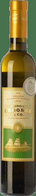 13,95 € Envío gratis | Vino dulce Jorge Ordóñez Nº 1 Selección Especial D.O. Sierras de Málaga Andalucía España Moscatel de Alejandría Media Botella 37 cl