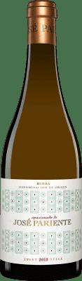 14,95 € Free Shipping | Sweet wine José Pariente Apasionado D.O. Rueda Castilla y León Spain Sauvignon White Half Bottle 50 cl