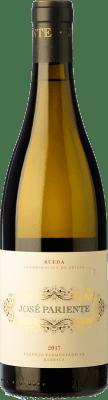 16,95 € Free Shipping | White wine José Pariente Fermentado en Barrica Crianza D.O. Rueda Castilla y León Spain Verdejo Bottle 75 cl
