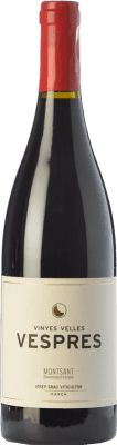 18,95 € Free Shipping | Red wine Josep Grau Vespres Joven D.O. Montsant Catalonia Spain Merlot, Grenache Bottle 75 cl