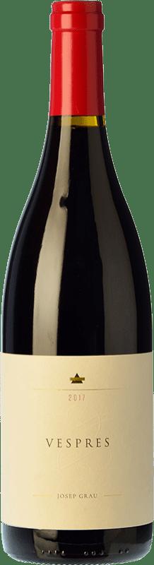 16,95 € Free Shipping | Red wine Josep Grau Vespres Joven D.O. Montsant Catalonia Spain Merlot, Grenache Bottle 75 cl