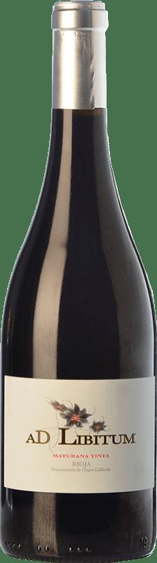 11,95 € Free Shipping | Red wine Sancha Ad Libitum Crianza D.O.Ca. Rioja The Rioja Spain Maturana Tinta Bottle 75 cl