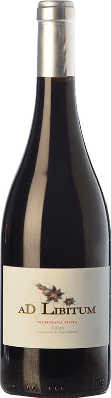 11,95 € Envío gratis | Vino tinto Sancha Ad Libitum Crianza D.O.Ca. Rioja La Rioja España Maturana Tinta Botella 75 cl
