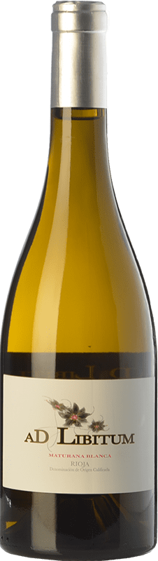 13,95 € Free Shipping | White wine Sancha Ad Libitum Crianza D.O.Ca. Rioja The Rioja Spain Maturana White Bottle 75 cl