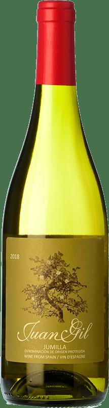 5,95 € Envoi gratuit | Vin blanc Juan Gil Moscatel Seco D.O. Jumilla Castilla La Mancha Espagne Muscat d'Alexandrie Bouteille 75 cl