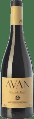 13,95 € Envío gratis | Vino tinto Juan Manuel Burgos Avan Crianza D.O. Ribera del Duero Castilla y León España Tempranillo Botella 75 cl