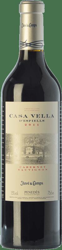27,95 € Free Shipping   Red wine Juvé y Camps Casa Vella d'Espiells Crianza D.O. Penedès Catalonia Spain Cabernet Sauvignon Magnum Bottle 1,5 L