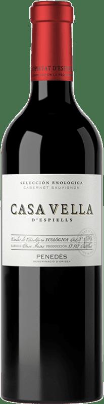 11,95 € Free Shipping | Red wine Juvé y Camps Casa Vella d'Espiells Crianza D.O. Penedès Catalonia Spain Cabernet Sauvignon Bottle 75 cl