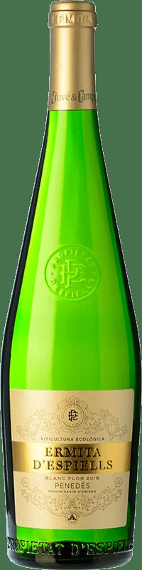 7,95 € Free Shipping | White wine Juvé y Camps Ermita d'Espiells D.O. Penedès Catalonia Spain Macabeo, Xarel·lo, Parellada Bottle 75 cl